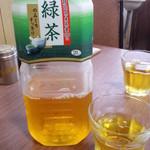 喜千 - ドリンク写真:お茶(2015.6月)3度目