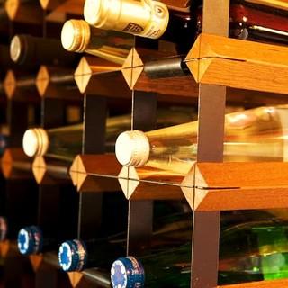 ◆豊富なグラス&ボトルワインがお料理の味を惹きたてます