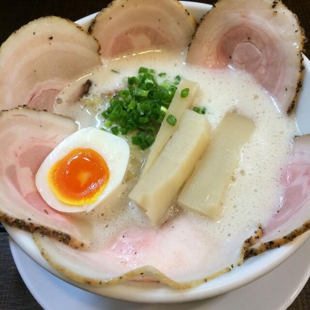 ラーメン家 みつ葉 - 塩チャ950円