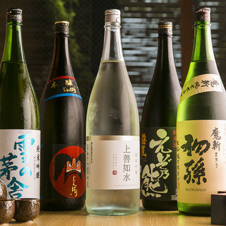 『獺祭』『山ねこ』をはじめとした和食に最適な本格日本酒・焼酎