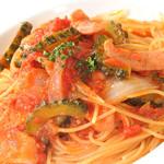 レストラン デルパパ ピゥ - 月替わりトマトソース