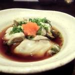 海鮮旬魚 悠 - 以前訪問時の生牡蠣