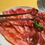 39508850 - A5ランクのお肉 カルビ ロース ツラミ