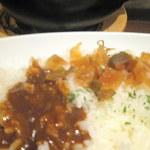 Cray pod curry Ohmiya Seiuemon - 福神漬けをトッピング