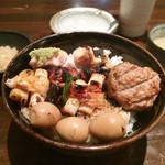 Re時屋 - 焼き鳥丼 850円