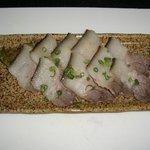 正ちゃん - 皮付き猪肉の塩焼き