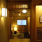 鎌倉 松原庵 欅 - 廊下 2015年3月