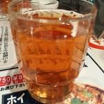 陳麻家 - 【2015.7.1(水)】お冷の烏龍茶