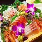 お魚ダイニング三好 - お刺身10種盛り
