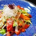 お魚ダイニング三好 - 海鮮三好サラダ
