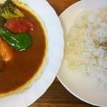 スープカレー カムイ - 野菜+ポーク