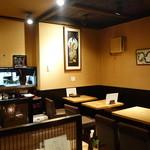 手打蕎麦 まるやま - 店内 2015年4月
