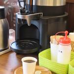 石窯パン工房 くまのpan屋. - コーヒーの無料サービス