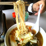 大空コーヒー焼肉 - 料理写真:みそラーメン(750円)…ノーコメント