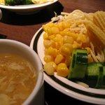 ステーキハンバーグ&サラダバーけん - サラダ&スープ