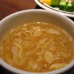 ステーキハンバーグ&サラダバーけん - スープ