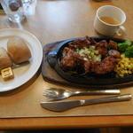 フライングガーデン - うま塩唐揚げランチ油淋鶏風 ¥734-