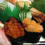 磯寿司 - 魚卵は好きじゃないけど、イクラは別口(笑)