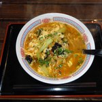 中華料理 福娃 - 酸辣湯麺(スーラータンメン)