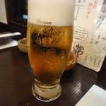 さかなや いぬい - 生ビール♪