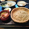 蕎林 - 料理写真:鴨ざるおおもり1670円 手ぶれしてますすみません!