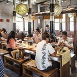 琉球焼肉なかま - 随所に琉球文化を感じます