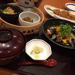 Kagonoya - 日替わりの鶏となすの黒酢あんかけ