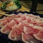 39525577 - ひたすら美味しい脂をもつ豚。