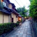 京料理屋 嵐山さくら - 石塀小路