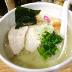 あさくら - ヘルシー鶏塩ラーメン(850円)