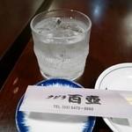 百壺 - チューハイすだちロック¥400
