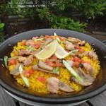 ターボラ - 日向鶏と自家栽培のバレンシア風パエリア