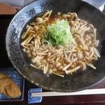 来音 - 料理写真:そばつゆラーメン きのこ