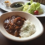 cafe mimosa - シーフードカレー ランチ