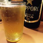 照ちゃん - ビールはサッポロとアサヒ
