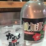 39534833 - ○愛加菜様(400円)、かなり甘味のある焼酎で良く福岡でも見かけるれんと様よりも滑らかな甘味でこれ旨い!!