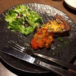 OLIVE - 手づくりキッシュ トマトのクーリーソース