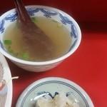 39538297 - 漬物とスープ