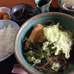 ときん亭 - そば定食810円