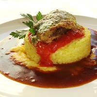 美味卵家 - 冬に大人気のタラのマスタード焼きと蛤出汁の炊き込みご飯のオムハヤシ