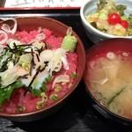 39540635 - ネギトロ丼定食(900円)