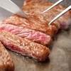 ANAクラウンプラザホテル広島鉄板焼・愛宕 - 料理写真:黒毛和牛ステーキ
