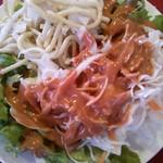 ラージャスターン - ランチのサラダ(大盛り)