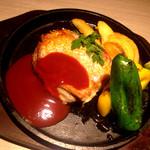 39541861 - 若鶏の鉄板焼き