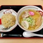 らーめん きちりん - チャーハンセット・塩(1000円)