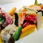ラ・ベファーナ - 彩り野菜のアンチョビソース