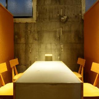 完全個室。感染予防対策強化し安心してお食事できる空間の提供。