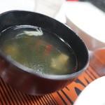 北海らーめん - スープ