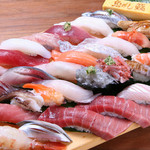 沼津魚がし鮨 流れ鮨 - 料理写真:お好み