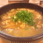 39559334 - 肉カレーうどん(細麺)